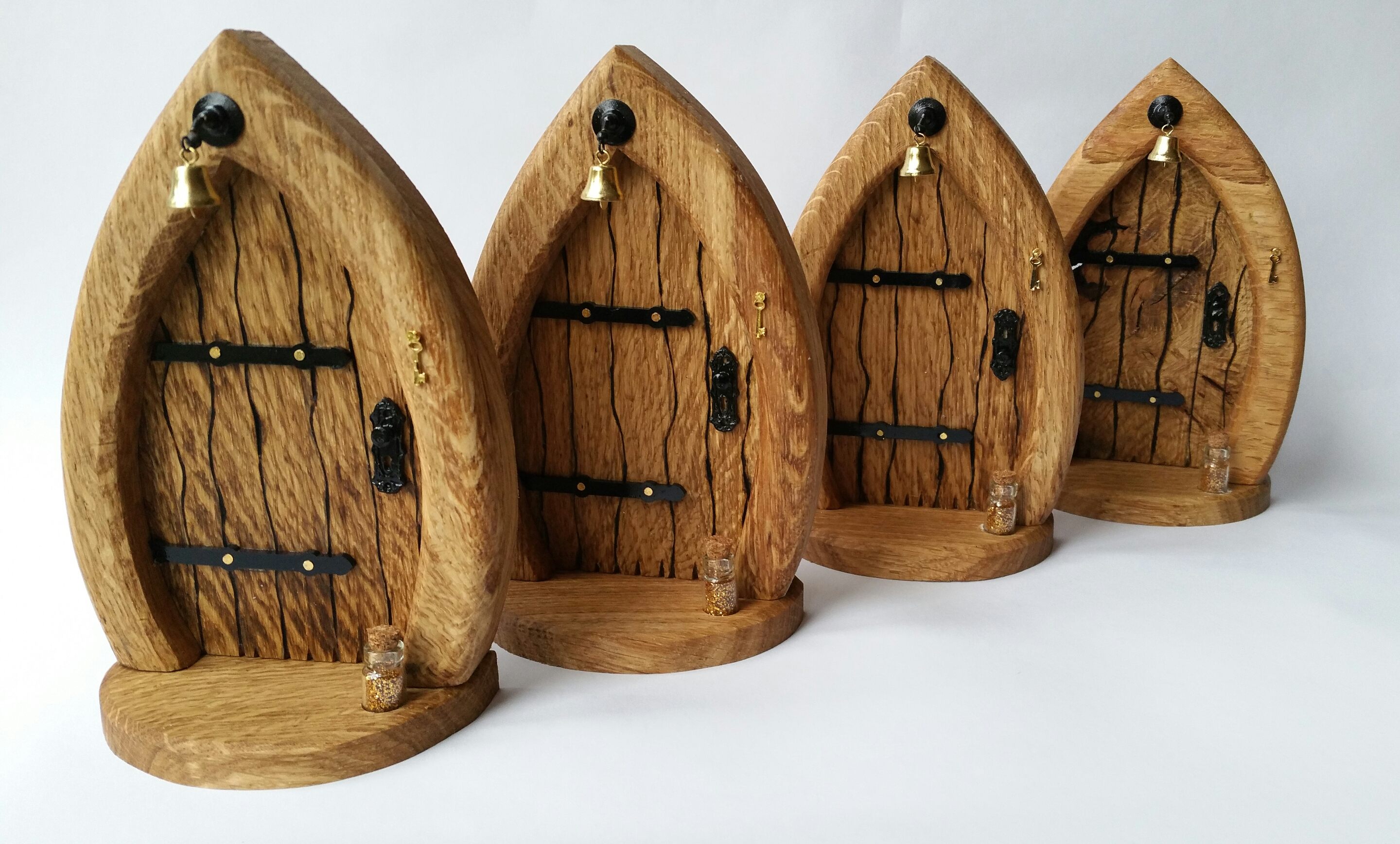Meet the maker cottage coppicing cardiff and valleys for Wooden fairy doors