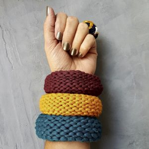 Directory Update No.4 Knitted banglesready