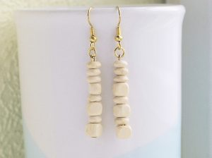 Light wood cube earrings 1 - Shirley Smith72dpi